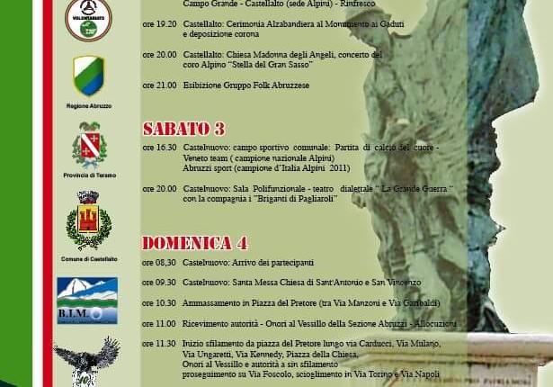 Raduno degli Alpini a Castelnuovo Vomano – TERAMO